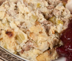 Homemade Turkey Sausage Stuffing