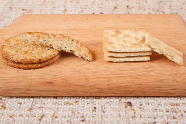 Ancient Grain versus Saltine Crackers