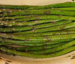 Pan Grilled Asparagus
