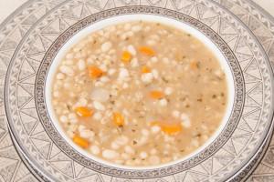 White Bean & Barley Soup