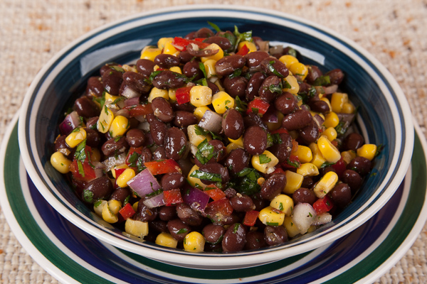 Homemade Black Bean Salsa