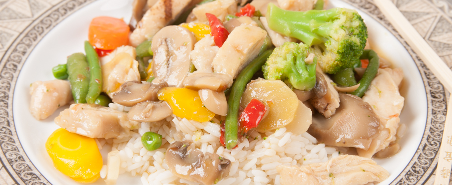 Easy Chinese Vegetable and Chicken Stir-Fry