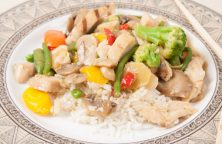 Chicken Vegetable stir-fry