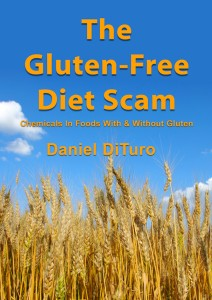 Gluten-Free Diet Scam Book Cover Art