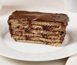 Graham Cracker Pudding Cake