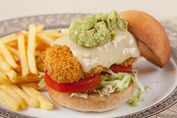 Oven-Fried Chicken Tender Sandwich