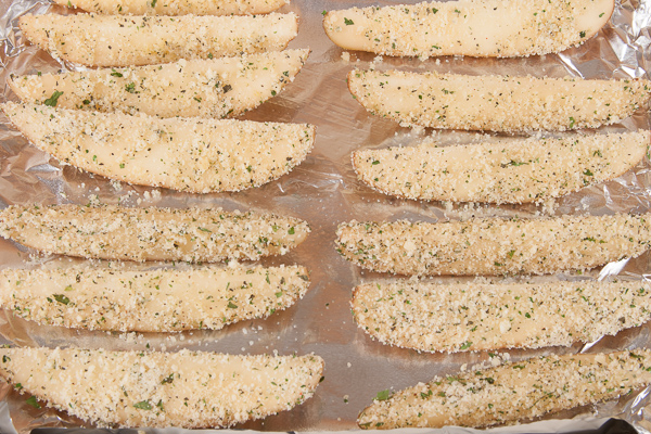 Parmesan-Herb Russet Potatoes