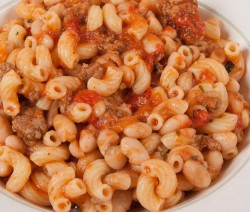 Pasta Fagioli With Turkey Sausage Sauce