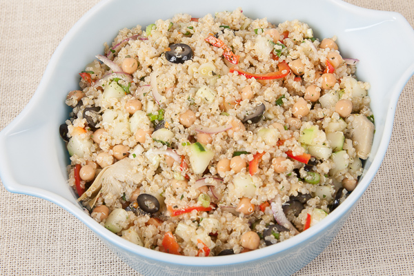 Quinoa and Garbanzo Tabbouleh