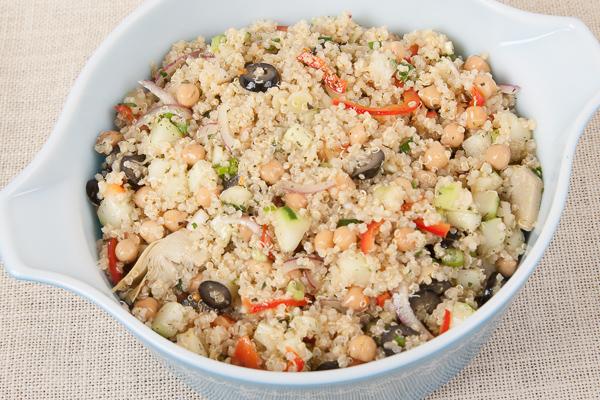 Quinoa and Garbanzo Tabbouleh