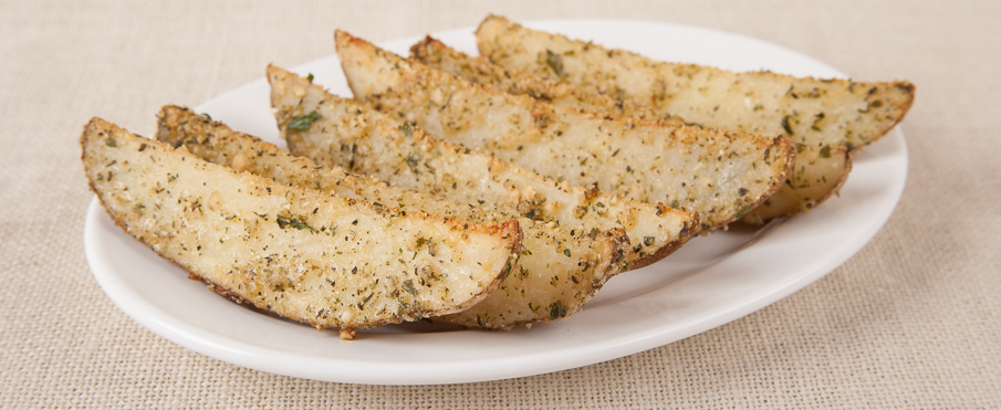 Parmesan & Herb Oven-Fried Potatoes