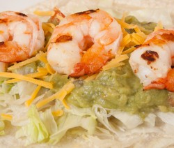 Tequila Lime Shrimp Taco